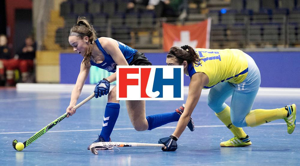 BERLIN - Indoor Hockey World Cup<br /> Women: United States - Kazakhstan<br /> foto: <br /> WORLDSPORTPICS COPYRIGHT FRANK UIJLENBROEK