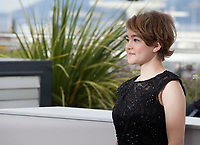Actress Millicent Simmonds at the Wonderstruck film photo call at the 70th Cannes Film Festival Thursday 18 May 2017, Cannes, France. Photo credit: Doreen Kennedy