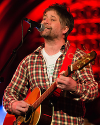© Licensed to London News Pictures. 02/02/2015. London, UK.   King Creosote performing live at Union Chapel.  King Creosote is Kenny Anderson,  known primarily by his stage name King Creosote,  an independent singer-songwriter from Fife, Scotland.     Photo credit : Richard Isaac/LNP