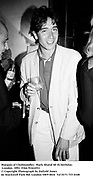 Marquis of Cholmondley. Mark Shand 40 th birthday. London. 1991. Film 91422f31<br />© Copyright Photograph by Dafydd Jones<br />66 Stockwell Park Rd. London SW9 0DA<br />Tel 0171 733 0108
