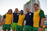 Rugby Sevens players in Athletes Village - 4 August 2016