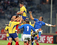 Marseille, FRANCE - 12th September 2007,  Sorin Socol of Romania  during the Rugby World Cup, pool C, match between Italy and Romania held at the Stade Velodrome in Marseille, France...Photo: Ron Gaunt/ Sportzpics