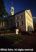 Moravian Church and steeple, Bethlehem, PA