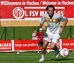 21.07.2010, Sportstadion, Flachau, AUT, Fussball Trainingslager, 1. FSV Mainz05, im Bild Christian Fuchs. EXPA Pictures © 2010, PhotoCredit: EXPA/ J. Groder / SPORTIDA PHOTO AGENCY