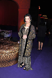 BIANCA JAGGER at a party hosted by Roberto Cavalli to celebrate his new Boutique's opening at 22 Sloane Street, London followed by a party at Battersea Power Station, London SW8 on 17th September 2011.