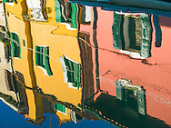 Burano is an island in the Venetian Lagoon, northern Italy;  an archipelago of four islands linked by bridges. It is situated near Torcello at the northern end of the Lagoon, and is known for its lacework and brightly coloured homes.