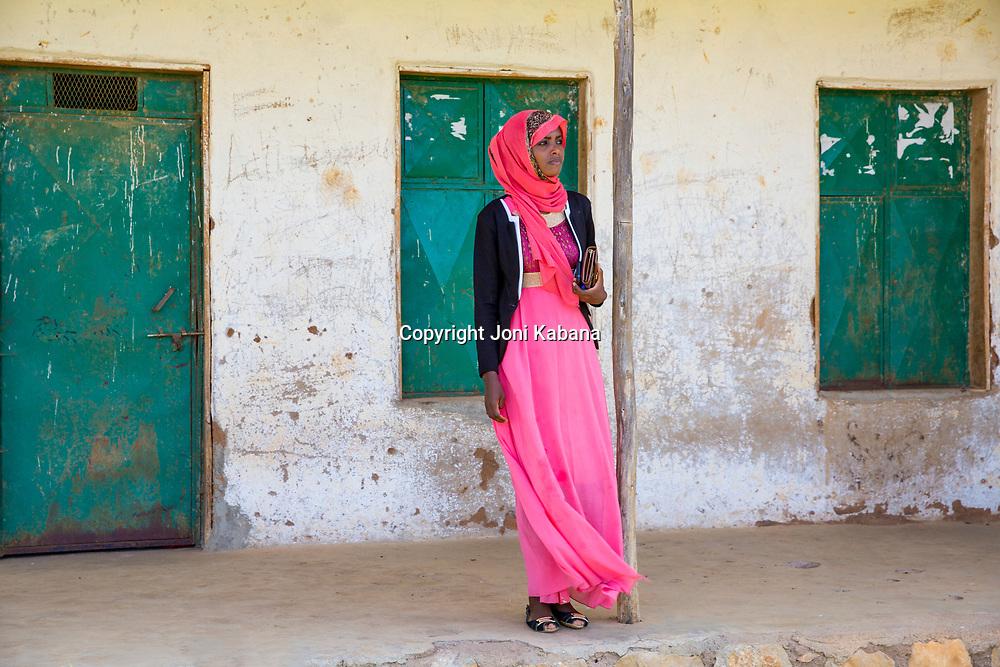 Mawerdi Adem, 24, teaches women in rural areas near Jarso, Ethiopia about maternal care and hygeine.