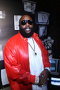 Rick Ross at the Rihanna's Album Release Party for her new Album ' Rated R ' hosted by the Juliet Supperclub and held at the Juliet Supperclub on November 24, 2009 in New York City