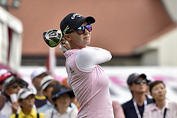 October 28, 2017 - Kuala Lumpur, Malaysia - MADELENE SAGSTROM of Sweden during day three of the Sime Darby LPGA Malaysia at TPC Kuala Lumpur in Malaysia. (Credit Image: © Chris Jung via ZUMA Wire)
