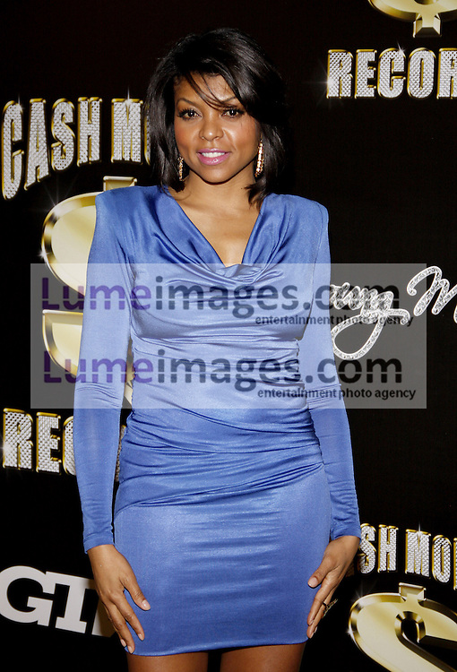 Taraji P. Henson at the 3rd Annual Cash Money Records Pre-Grammy Awards Party held at the Paramount Studios in Hollywood on February 11, 2012.