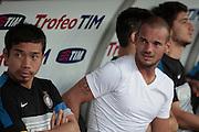 Bari (BA) 21.07.2012 - Trofeo Tim 2012. Inter - Juventus. Nella Foto: Sneijder e Nagatomo (I)