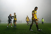 Hurricanes Victor Vito and the Hurricanes players dejected after losing the Super 14 rugby union Semi Final match, Chiefs v Hurricanes at Waikato Stadium, Hamilton, New Zealand. Friday 22 May 2009. Photo: Anthony Au-Yeung/PHOTOSPORT