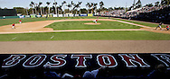 Boston Red Sox play ball with  the Northeastern Huskies at the City of Palms Park on Friday March 4, 2005. M