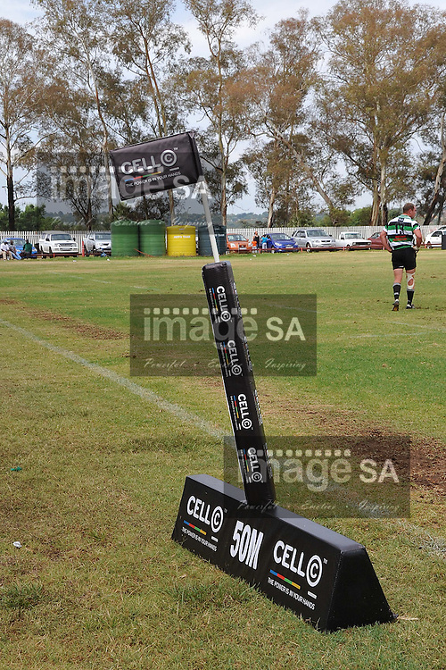 ROODEPOORT, SOUTH AFRICA - SATURDAY MARCH 2 2013, Branding during match 22 of the Cell C Community Cup rugby match between Roodepoort and Raiders held at the Rand Leases Sports Ground, Roodepoort (Johannesburg)..Photo by Wessel Oosthuizen/ImageSA