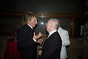 ROD STEWART AND JOHN REID, Cartier Dinner to celebrate the re-opening of the Cartier U.K. flagship store, New Bond St. Natural History Museum. 17 October 2007. -DO NOT ARCHIVE-© Copyright Photograph by Dafydd Jones. 248 Clapham Rd. London SW9 0PZ. Tel 0207 820 0771. www.dafjones.com.
