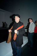 RON ARAD, Opening of Blood on Paper: the art of the Book. V & A. Museum. London. 14 April 2008. Afterwards there was a dinner hosted by Lady Foster.  *** Local Caption *** -DO NOT ARCHIVE-© Copyright Photograph by Dafydd Jones. 248 Clapham Rd. London SW9 0PZ. Tel 0207 820 0771. www.dafjones.com.