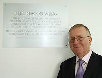 John Deacon CBE.The BRIT School Industry Day, Croydon, London..Thursday, Sept.22, 2011 (John Marshall JME)