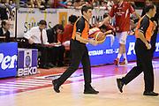DESCRIZIONE : Pistoia Lega serie A 2013/14 Giorgio Tesi Group Pistoia Acea Roma<br /> GIOCATORE : Arbitro<br /> CATEGORIA : Arbitro Pregame<br /> SQUADRA : Arbitro<br /> EVENTO : Campionato Lega Serie A 2013-2014<br /> GARA : Giorgio Tesi Group Pistoia Acea Roma<br /> DATA : 29/12/2013<br /> SPORT : Pallacanestro<br /> AUTORE : Agenzia Ciamillo-Castoria/GiulioCiamillo<br /> Galleria : Lega Seria A 2013-2014<br /> Fotonotizia : Pistoia Lega serie A 2013/14 Giorgio Tesi Group Pistoia Acea Roma<br /> Predefinita :
