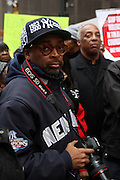Spike Lee at The National Day of Outrage sponsored by The National Action Network and Rev. Al Sharpton on November 23, 2009 in Times Square in New York City. Terrence Jennings/Retna, Ltd..The National Day of Outrage calls attention to the daily violence which occurs in the inner cities of the United States, and promotes strategies to stop the violence and provide new directions to positive growth through economic empowerment and sustainable role models.