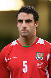 CARDIFF, WALES - Friday, September 5, 2008: Wales' Craig Morganbefore the opening 2010 FIFA World Cup South Africa Qualifying Group 4 match against Azerbaijan at the Millennium Stadium. (Photo by David Rawcliffe/Propaganda)