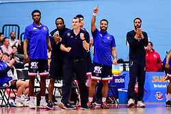Bristol Flyers head coach Andreas Kapoulas - Photo mandatory by-line: Ryan Hiscott/JMP - 13/04/2019 - BASKETBALL - SGS Wise Arena - Bristol, England - Bristol Flyers v Manchester Giants - British Basketball League Championship