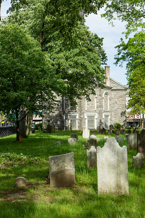 The burial ground of the Flatbush Dutch Reformed Church.