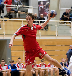 05.11.2016, SPORT. ZENTRUM Niederösterreich, St. Pölten, AUT, Invitational, Österreich vs Serbien, im Bild Elias Kropf (AUT)// during the Invitational match between Austria and Serbia at the SPORT. ZENTRUM Niederösterreich, St. Pölten, Austria on 2016/11/05, EXPA Pictures © 2016, PhotoCredit: EXPA/ Sebastian Pucher