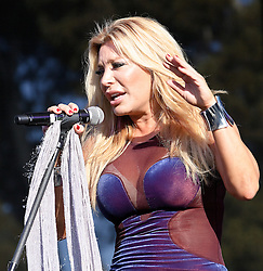 NEWPORT BEACH, CA - 09/18/2011: Jewish American pop vocalist, songwriter and  dance artist Taylor Dayne performed a solid set at the Taste of Newport 2011. Photo by Eduardo E. Silva