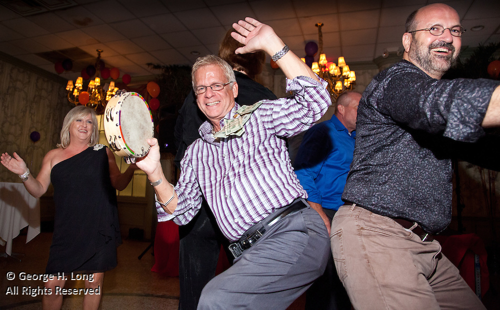 DJ Wright celebrates at his birthday party at Arnaud's
