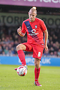 Luke Summerfield during the Pre-Season Friendly match between York City and Newcastle United at Bootham Crescent, York, England on 29 July 2015. Photo by Simon Davies.