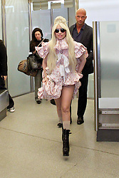 Lady Gaga arrives in Berlin. <br /> 60631441<br /> Lady Gaga arrives at Berlin-Tegel Airport, Berlin, Germany, Wednesday, 23rd October 2013. Picture by  imago / i-Images,<br /> UK ONLY
