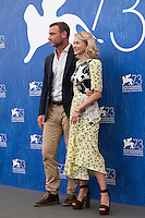 Liev Schreiber, Naomi Watts at The Bleeder film photocall at the 73rd Venice Film Festival, Sala Grande on Friday September 2nd 2016, Venice Lido, Italy.