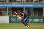 Wayne Madsen of Derbyshire Falcons during the Natwest T20 Blast North Group match between Derbyshire County Cricket Club and Lancashire County Cricket Club at the 3aaa County Ground, Derby, United Kingdom on 6 July 2018. Picture by Mick Haynes.