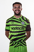 Forest Green Rovers Dominic Bernard(3) during the official team photocall for Forest Green Rovers at the New Lawn, Forest Green, United Kingdom on 29 July 2019.