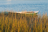 Boat, South Fork, Springs, Accabonac Harbor, Long Island, New York