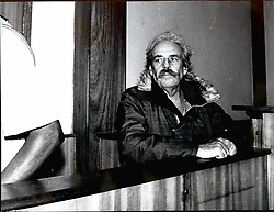 1972 - Astle Uganda Major Bob Astle in the docks at Kampala High Courts where he is being tried for murder. Astle was a close advisor to Idi Amin the former Ugandan ruler. (Credit Image: © Keystone Pictures USA/ZUMAPRESS.com)