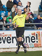 Referee Stephen Finnie - Greenock Morton v Dundee, Irn Bru Scottish Football League First Division at Cappielow..© David Young - 5 Foundry Place - Monifieth - DD5 4BB - Telephone 07765 252616 - email; davidyoungphoto@ggmail.com - web; davidyoungphoto.co.uk