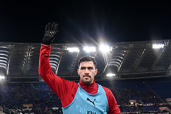 February 3, 2019 - Rome, Rome, Italy - Alessio Romagnoli of Milan during the Serie A match between Roma and AC Milan at Stadio Olimpico, Rome, Italy on 3 February 2019. (Credit Image: © Giuseppe Maffia/NurPhoto via ZUMA Press)
