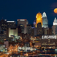 Night Cincinnati Skylines