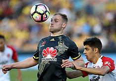 Auckland -Football-ALeague, Wellington Phoenix v Western Sydney Wanderers