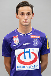 16.07.2019, Generali Arena, Wien, AUT, 1. FBL, FK Austria Wien, Fototermin, im Bild Vesel Demaku // Vesel Demaku during the official team and portrait photoshooting of tipico Bundesliga Club FK Austria Wien for the upcoming Season at the Generali Arena in Vienna, Austria on 2019/07/16. EXPA Pictures © 2019, PhotoCredit: EXPA/ Florian Schroetter