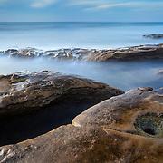 La Jolla Tide Pools - Long Exposure - Late Afternoon