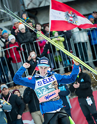 20.03.2015, Planica, Ratece, SLO, FIS Weltcup Ski Sprung, Planica, Finale, Skifliegen, im Bild Siegerehrung, Stefan Kraft (AUT, 3. Platz) // during the Ski Flying Individual Competition of the FIS Ski jumping Worldcup Cup finals at Planica in Ratece, Slovenia on 2015/03/20. EXPA Pictures © 2015, PhotoCredit: EXPA/ JFK