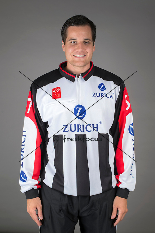 09.08.2015; Magglingen; Eishockey NLA - Schiedsrichter;<br /> Adrian Oggier <br /> (Andy Mueller/freshfocus)
