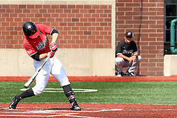 17 April 2016:  Owen Miller during an NCAA Division I Baseball game between the Southern Illinois Salukis and the Illinois State Redbirds in Duffy Bass Field, Normal IL