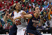 2012 ACC Women's Tourney Maryland 70 - Virginia 58