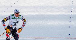 24.02.2017, Lahti, FIN, FIS Weltmeisterschaften Ski Nordisch, Lahti 2017, Nordische Kombination, Langlauf, im Bild Bernhard Gruber (AUT) // Bernhard Gruber of Austria during Cross Country of Nordic Combined competition of FIS Nordic Ski World Championships 2017. Lahti, Finland on 2017/02/24. EXPA Pictures © 2017, PhotoCredit: EXPA/ JFK