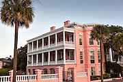 Palmer House Inn along the Battery in historic Charleston, SC.