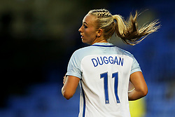 Toni Duggan of England - Mandatory by-line: Matt McNulty/JMP - 19/09/2017 - FOOTBALL - Prenton Park - Birkenhead, United Kingdom - England v Russia - FIFA Women's World Cup Qualifier
