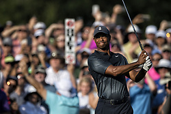 May 11, 2018 - Ponte Vedra Beach, Florida, USA - Tiger Woods on 10th tee. The Players Championship 2018 at TPC Sawgrass. (Credit Image: © Bill Frakes via ZUMA Wire)